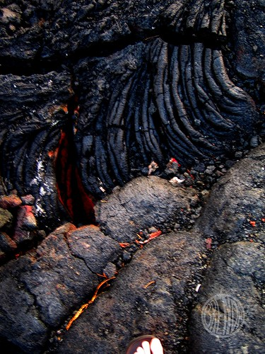 lava like elephant skin