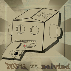 Melvind v.s DUB13 (Dublicious Thirteen (dub13.com)) Tags: art graphicart photoshop stickerart combo melvind dub13 dublicious13 dubliciousthirteen