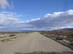 Ruta 40 - Perito Moreno - El Chalten - route
