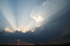 Sun Streaks And Storm Clouds - explore (Marvin Bredel) Tags: sunset sky storm oklahoma clouds explore thunderstorm sunrays storms marvin thunderstorms sunstreaks kingfishercounty marvin908 oklahomathunderstorms bredel marvinbredel