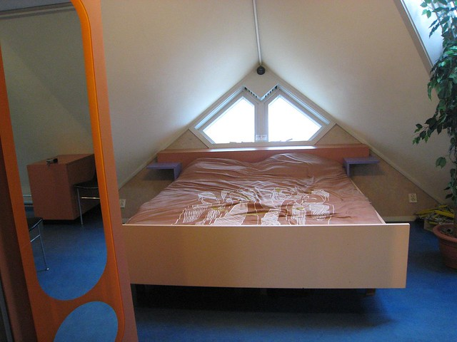cube house bedroom
