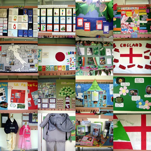 Multicultural Week Bulletin Boards