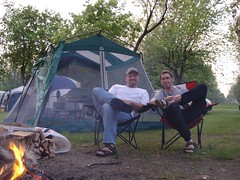 CPB goes camping