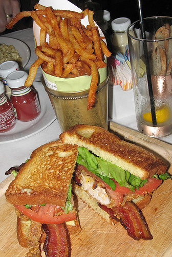 Fried Soft-Shell Crab BLT