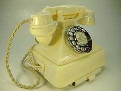 Ivory 1/232 (Old BT Telephones) Tags: 200 series bakelite telephones