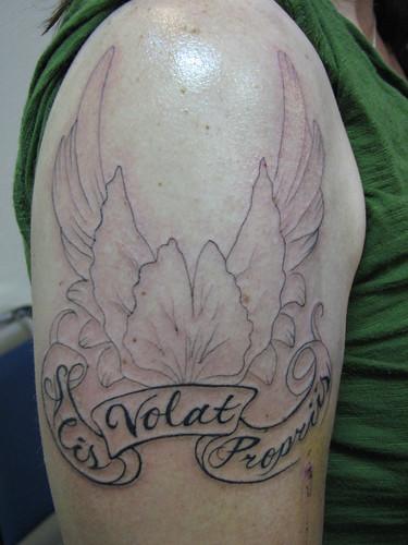 alis volat propriis tattoo. with alisvolatpropriis