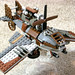 Heavy Ornithopter Fighter Mk. XIX (front) by Pain Parade