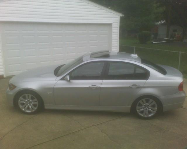 silver 328 bmw 2007