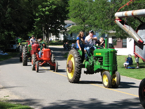 Here Come the Tractors
