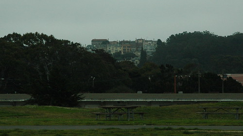 Homes above the Presidio