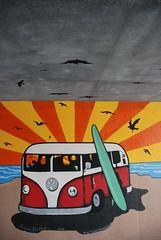DSC_0868 (Kurt Christensen) Tags: art beach painting mural surf thrust gilgobeach gilgo
