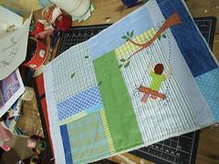 0043 (AP.CAVALARI / ANA PAULA) Tags: baby dolls arte handmade artesanato fabric bebe patchwork cor desenho quadros tecido anapaulacavalari