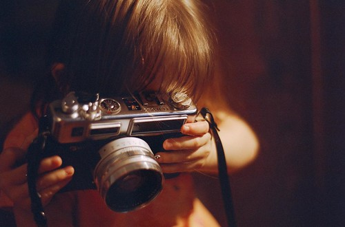 The Little Photographer Composes