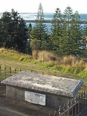Historic Grave (Ninoxowl) Tags: james vaughn portmacquarie