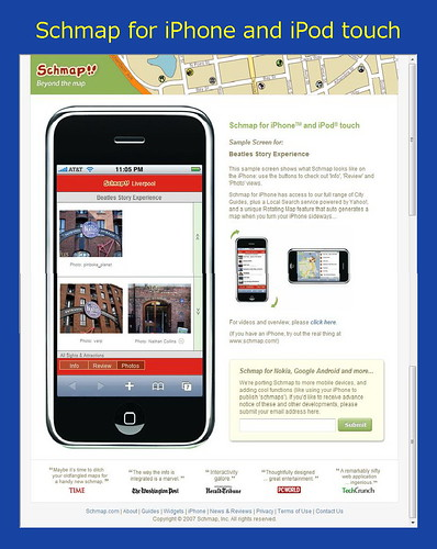 Schmap for iPhone and iPod touch [Mary's UK--DSC01197]