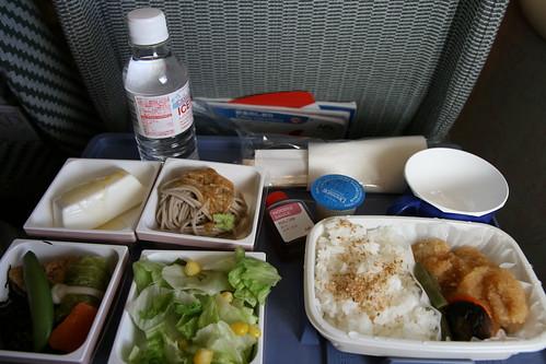 機上餐點,此行的最後一張照片 by RafaleM