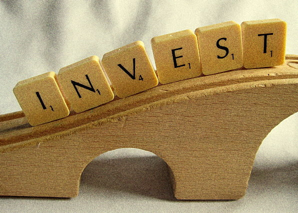 Invest Scrabble Letters:  Photo Credit Flickr User WonderWebby