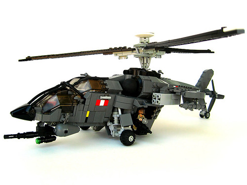 Lego Military Models Building Helicopters