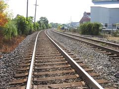Railroad tracks Pittsburgh