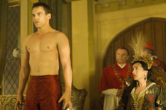 Jonathan Rhys Meyers as the young King Henry VIII