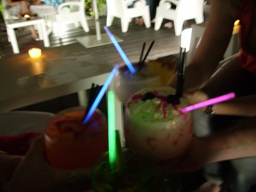 Bebidas con espada láser