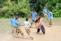 Kabbadi 1 (amangla007) Tags: india himachalpradesh shimla school children play games kabbadi fun candid outside outdoors sports boys girls students