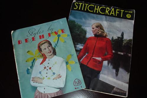 Vintage pattern books