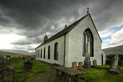 Church of Scotland - Amulree- my favourite (Zog the Frog) Tags: church clouds amulree
