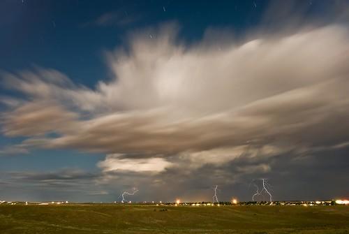 Moonlit Lightning
