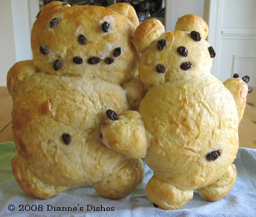 """Bear"" Bread: Baked"