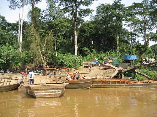 nearing the east bank of the Ituri