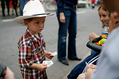 Git along little cowpoke (Chris Beauchamp) Tags: canada calgary parade alberta 2008 stampede copyrightchrisbeauchamp20072009