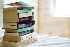 a beautiful mind. (*Peanut (Lauren)) Tags: texture still books faves windowlight 30secrets august2008