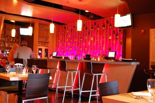 The bar at STIX by Blumie the Koala.