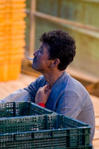 Korean fishermans