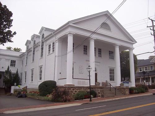 Great Old Town Hall In Fairfax, Virginia