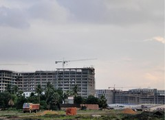 DLF and Unitech, New Town Kolkata