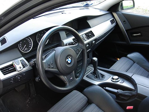 Bmw Gallery Bmw 530d E60 Auto Interior