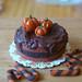Miniature Food Halloween Cake