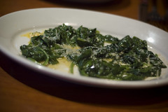 Sauteed Spinach at Elephant Bar