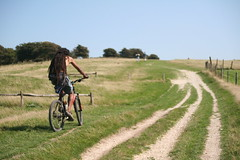 Running up that hill (Monkey_Face87) Tags: sussex brighton devilsdyke