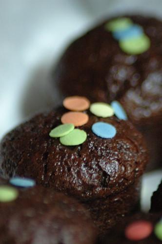 Mini ciocco muffin!