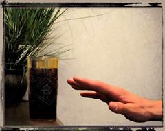 Ramadan Day 3: Self Control (ccurtiz) Tags: texture glass hand ramadan chicoca canonpowershotsd950is