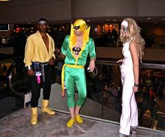 Luke Cage, Iron Fist, & Dazzler (sciencensorcery) Tags: comics cosplay conventions con dragoncon dazzler ironfist lukecage dragoncon2008 dragoncon08