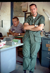 In Memories of Pre-1975 Vietnam Pics (Nguyen Ngoc Chinh) Tags: vietnamese waite vietnam 1967 bienhoa macv trangbom advisoryteam98 ductu
