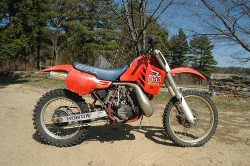 my honda crr evan fell motorcycle worksevan fell 1986 honda cr250r originally uploaded by evanfell