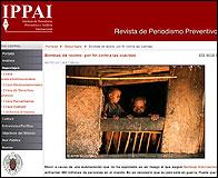 Web del Instituto de Periodismo Preventivo