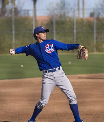 The Cubs Are Trying Josh Vitters at First Base
