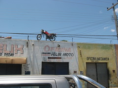 Motorcycle on the Roof