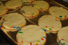 Sugar cookies (Poison Cupcakes) Tags: rainbow sprinkles teaparty sugarcookies